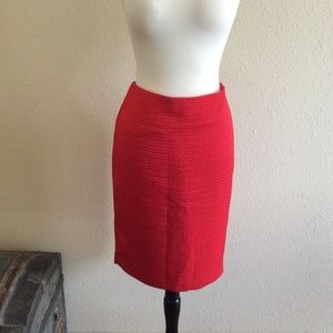 The Limited Skirt Size 8 Color Red